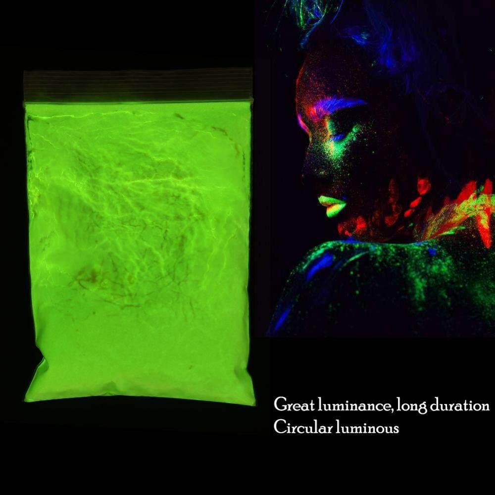 Fluorescent Bercahaya Bubuk Cat DIY Pigment Kuku Polandia Lapisan Bercahaya Bubuk-Internasional