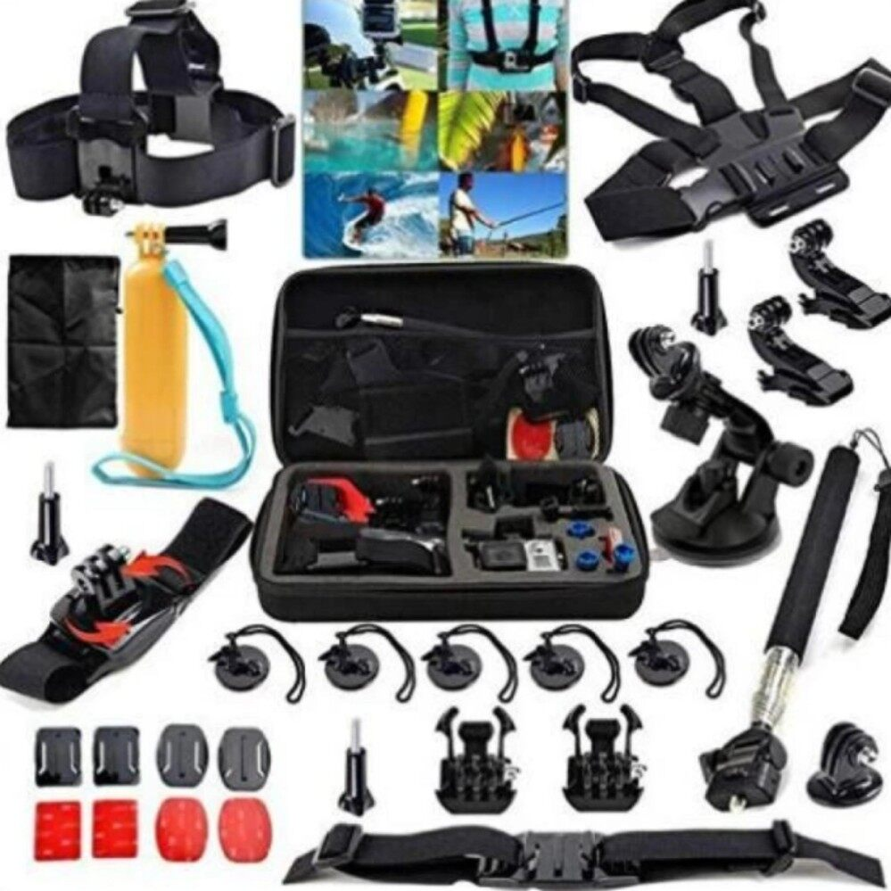 List Haraga 1 X Black Knuckles Fingers Hand Grip Mount Handle Holder Floating Bobber For Xiaomi Yi And Gopro Hero 2 3 31 In Action Camera Essentials Accessories Kit 5 4