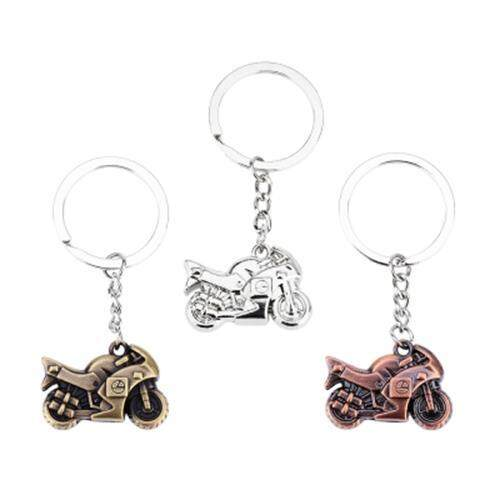 CAR KEY RING CLASSIC MOTORCYCLE DESIGN RUST RESISTANCE POLISHING SURFACE ZINC ALLOY MATERIAL