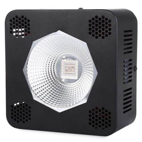 192W ( TRUE 96W ) COB FULL SPECTRUM LED INDOOR PLANT GROW LIGHT (BLACK)