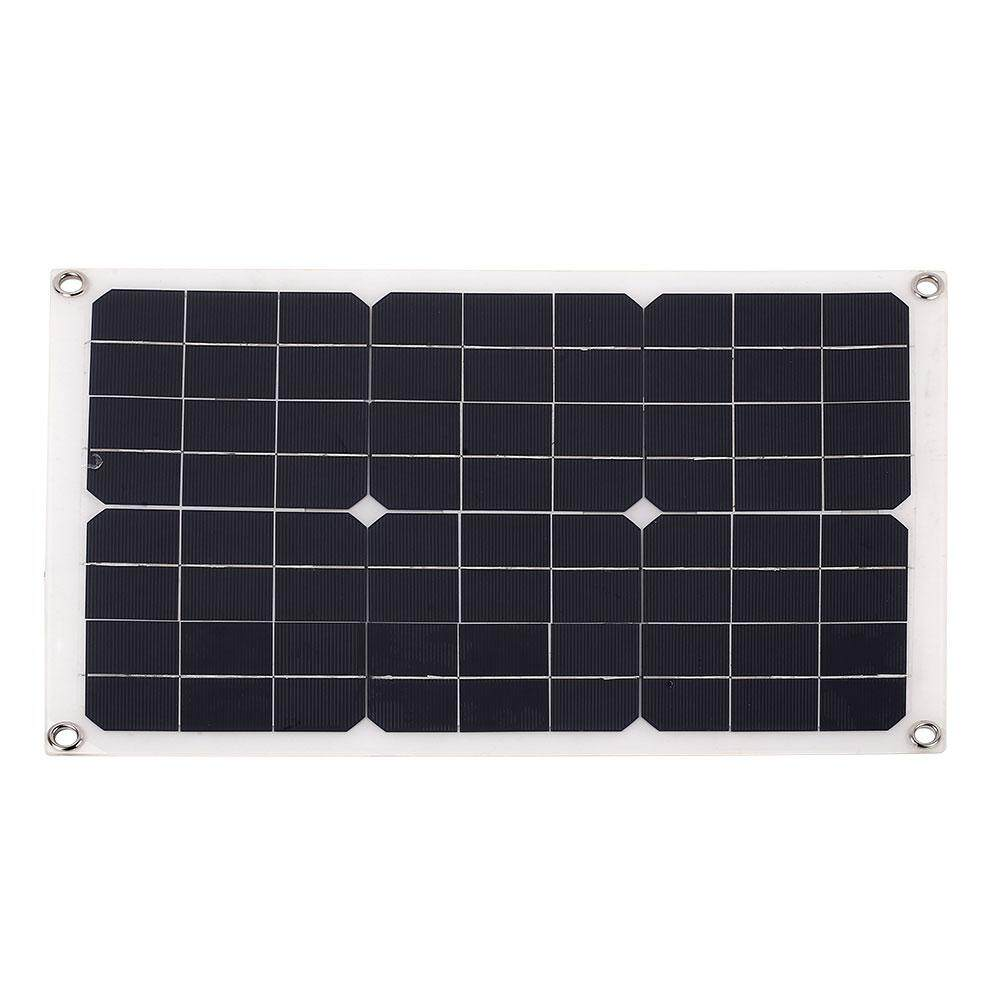 Retail Solar Panel Solar Generator Durable Usb Dc Port 20W 18V Car Battery Chargiing Solar Light Intl