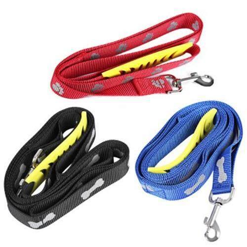 SASSY HEAVY DUTY STRAP DOG LEASH (RED)