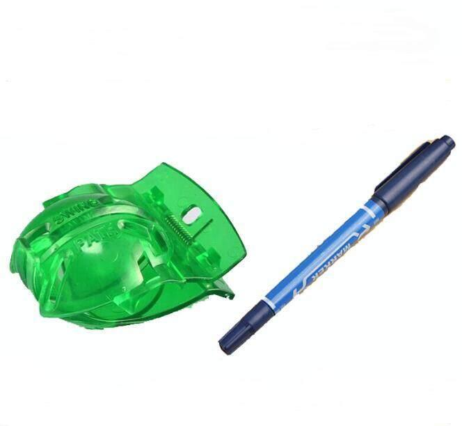 Penggaris Bola Golf Penanda Templat Gambar Alat Pelurusan + Pena (warna Acak) Aksesori Latihan Golf By Small Yellow Duck.