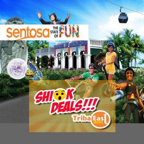 Sentosa Fun Pass 120 Tokens (Adult/Child)