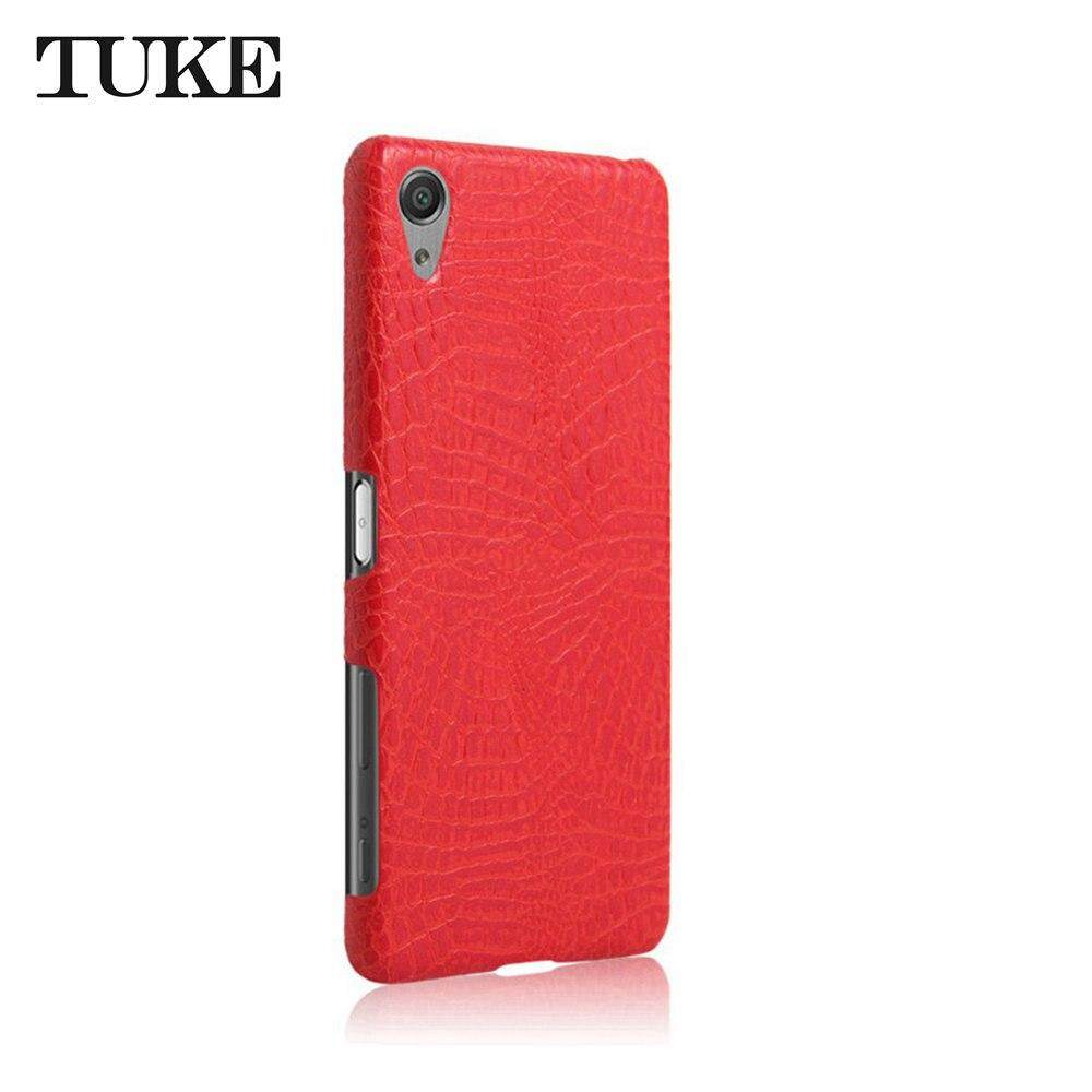 Detail Gambar TUKE Crocodile Pattern Case for Sony Xperia X Performance Back Cover For Sony X