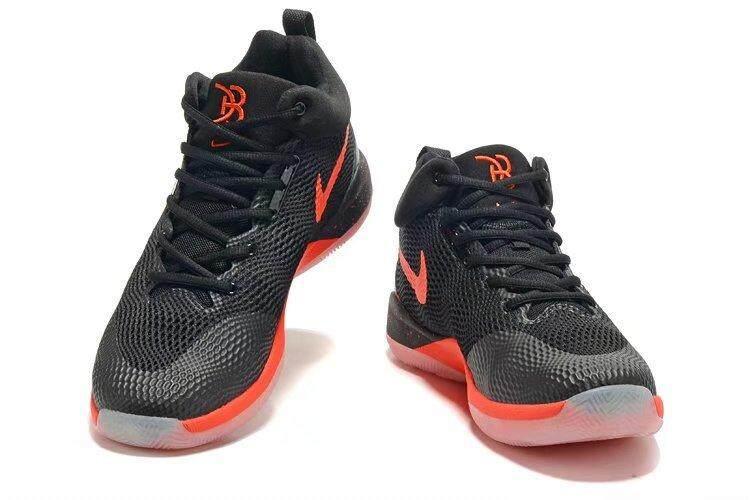 Pria Hyperrev 2017 Bola Keranjang Sepatu Hitam Merah-Internasional