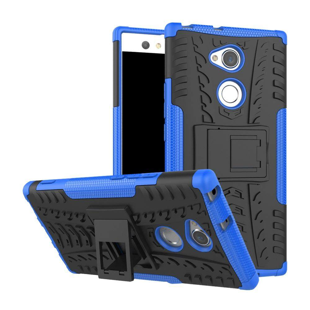 Case for Sony Xperia XA2 Ultra Hyun Pattern Dual Layer Shockproof Kickstand Hybrid Armor 2 In