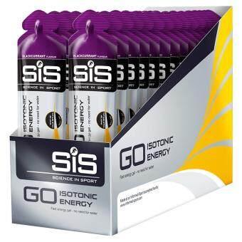 SiS GO Isotonic Energy Gel 60ML 30 Pack - Blackcurrant