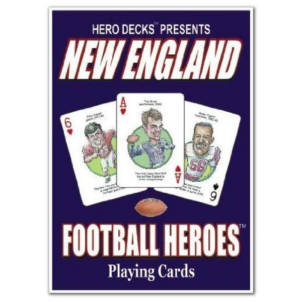 Hero Decks - New England Patriots - Playing Cards by Channel Craft - intl