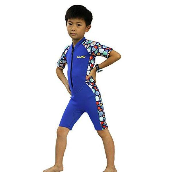 Goldfin Kids Shorty Wetsuit Swimming Suit Junior Dive Skins Diving Snorkeling SS005 by - intl