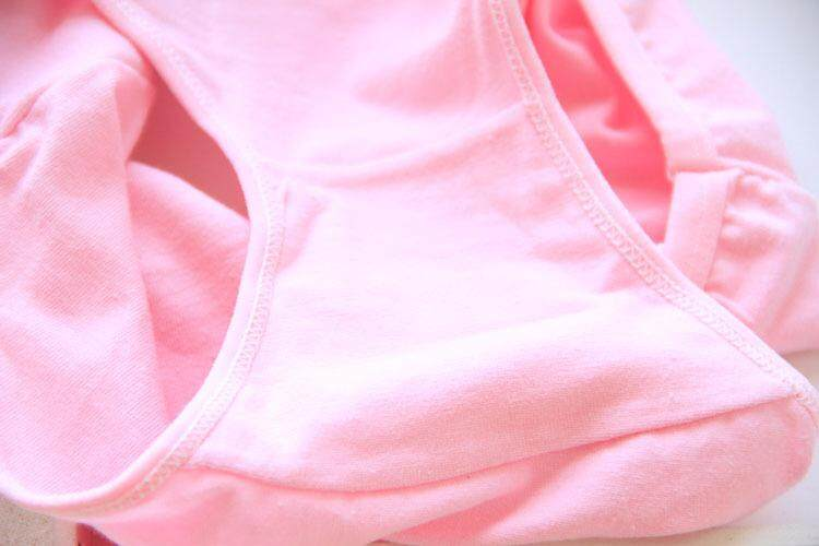 5 Pieces Plus Size Soft Cotton Comfortable Breathe Freely Women Ladies Panties Underwear