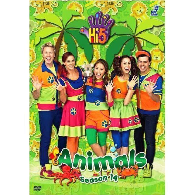 Hi-5 Season 14 Animals (Australia Series) DVD
