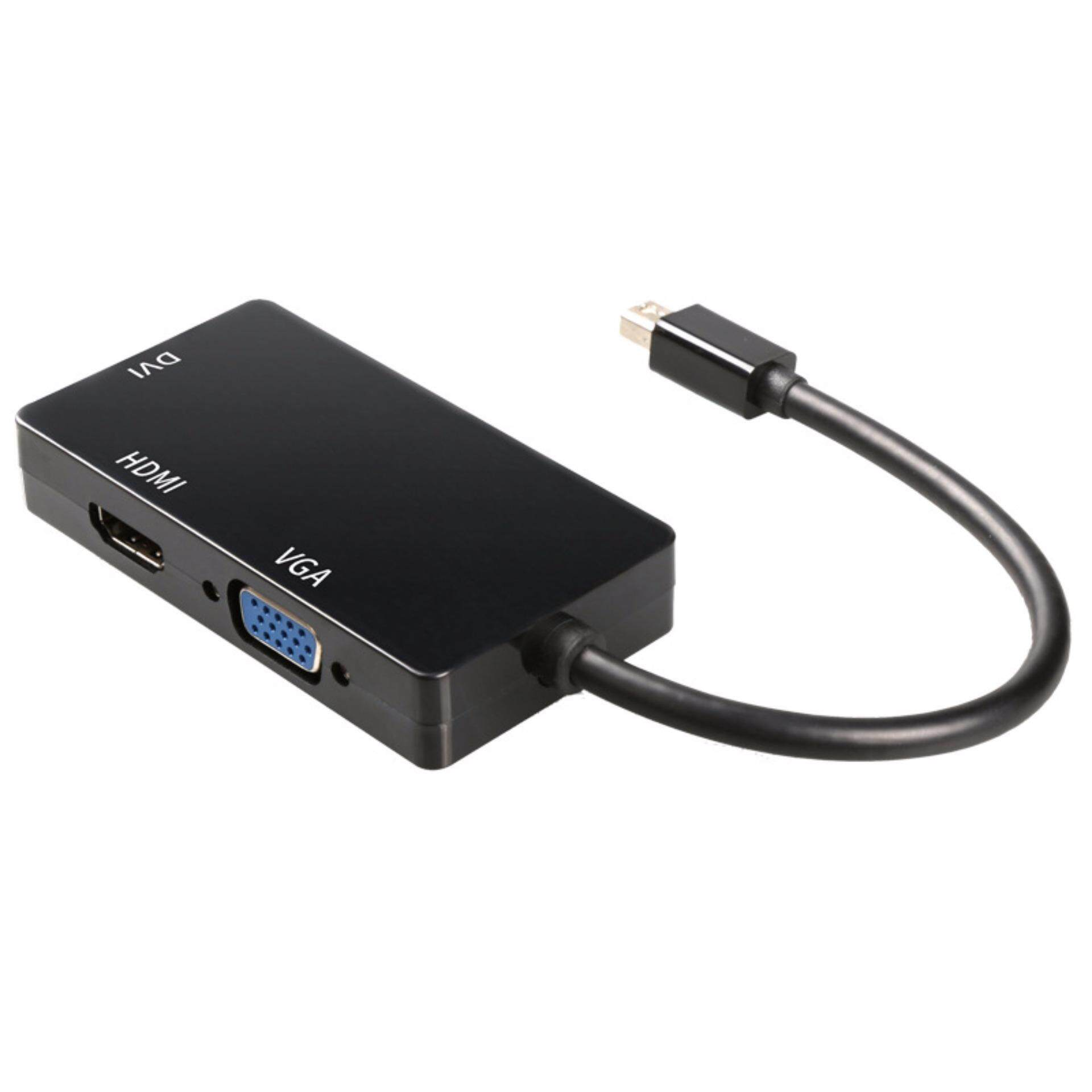 Mini DisplayPort to HDMI/DVI/VGA,VicTal Thunderbolt Port Male to Female Adapter