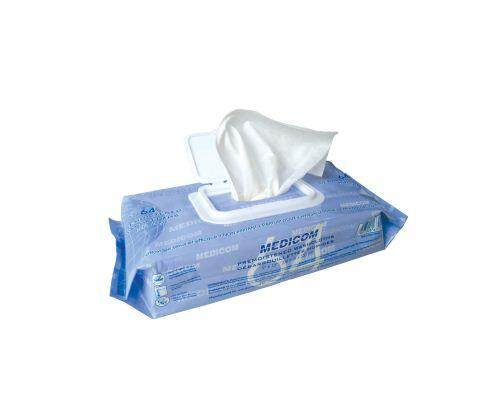 Medicom Premoistened Washcloths Wipes 64s