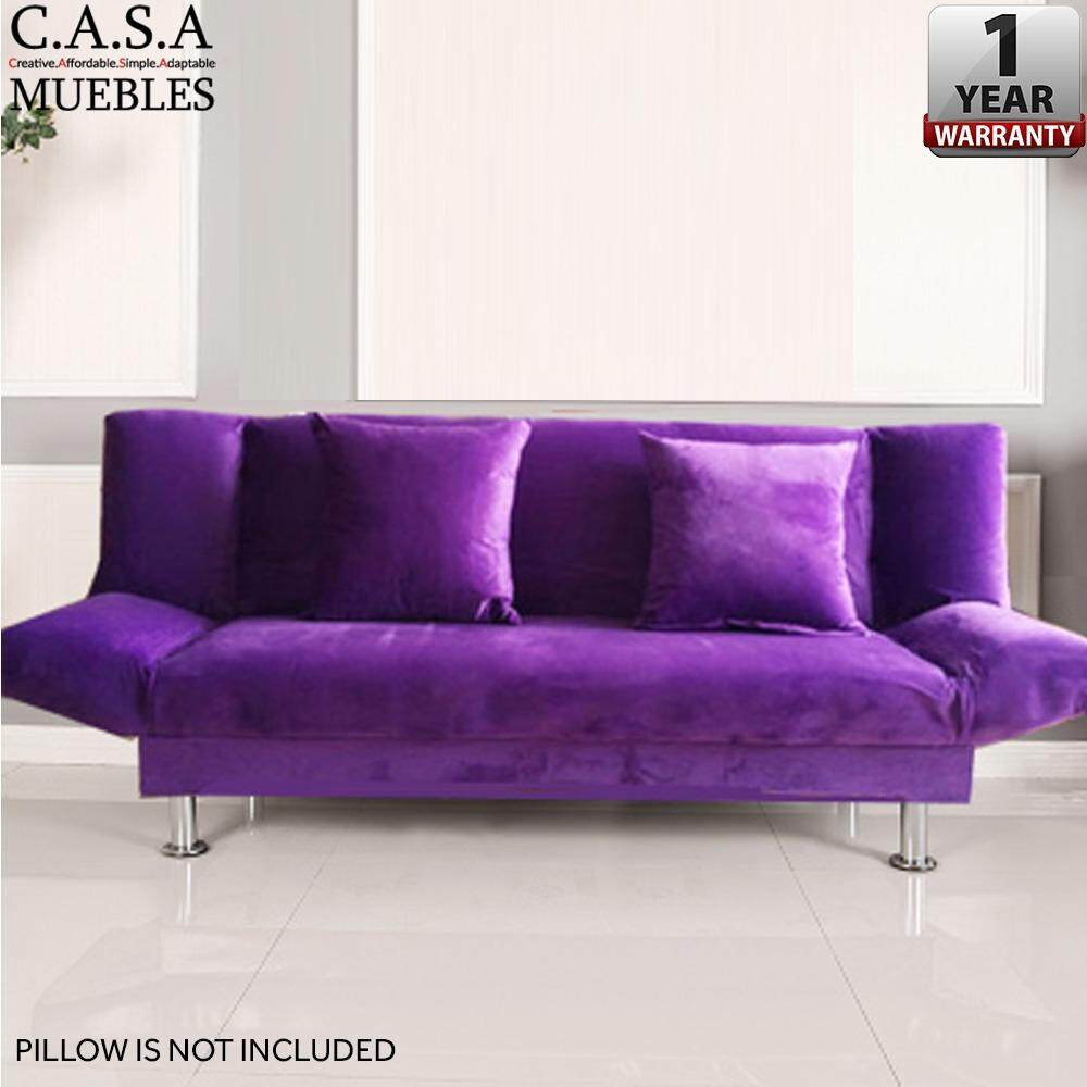 Casa Muebles Iris 2 Seater Durable Foldable Sofa With 1 Year  # Muebles Positive
