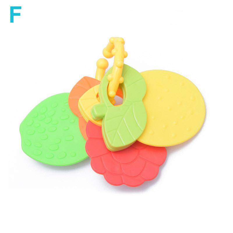 Baby Rattles Teether Toy Gutta Molar Bars Bells Silicone Teething Appease Toys
