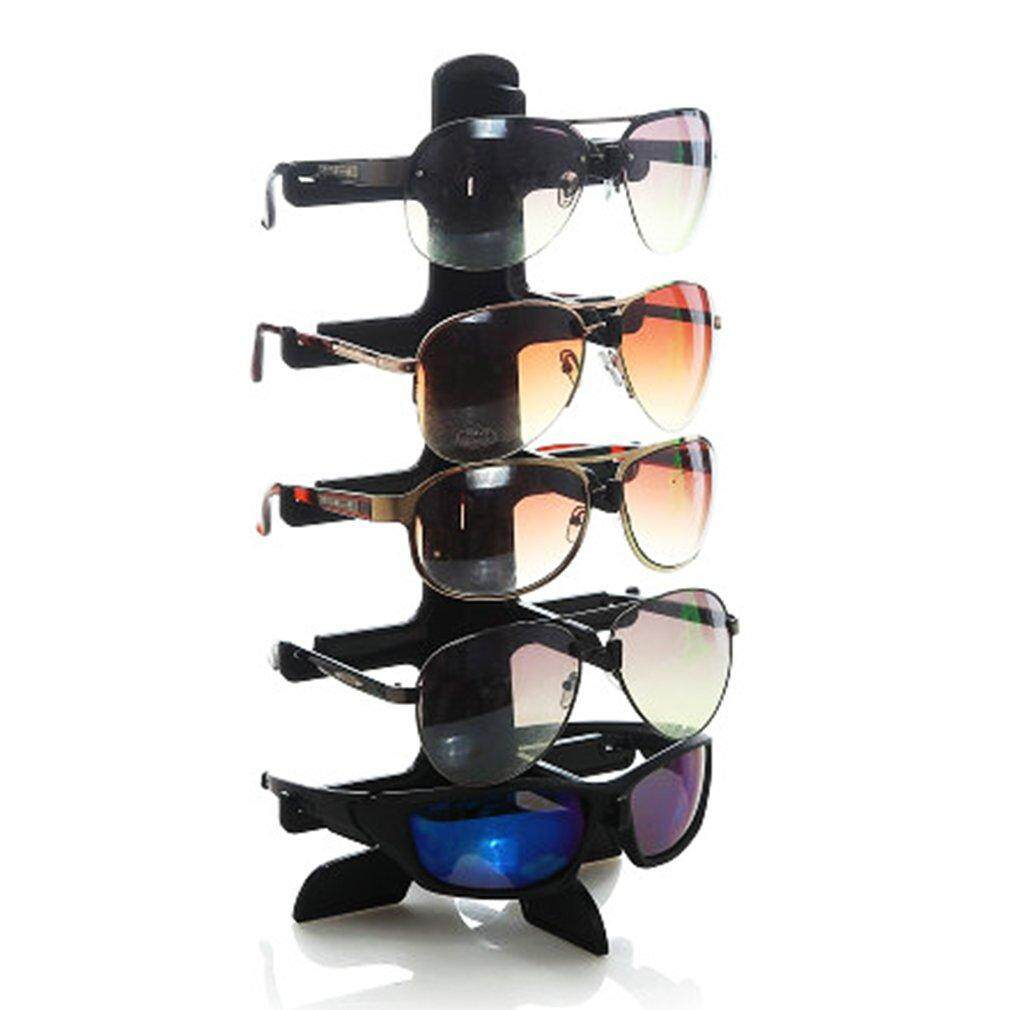 5 Layers Glasses Eyeglasses Sunglasses Show Stand Holder Frame Display Rack - Intl By Allwin2015.