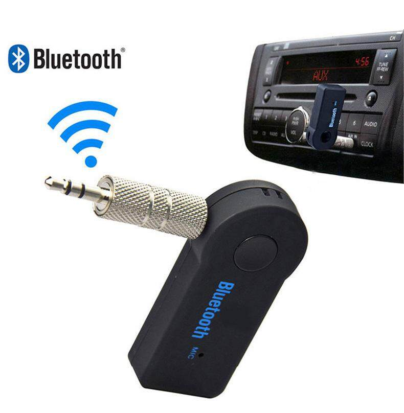 Wireless Bluetooth Receiver Speaker Headphone Adapter 3.5MM Audio Stereo Music Receiver Home Hands-free Bluetooth Plug - intl