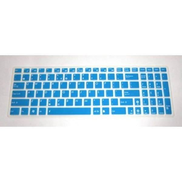 AS Layout Keyboard Pelindung Kulit Sarung untuk Asus GL552VW GL552JX G501JW Q552UB Q503UA F554LA F555UA F555LA R556LA K501UX N551JQ X550ZA x751LAV GL752VW GL702VM P2540UA P2530UA (Semi-biru) -Internasional