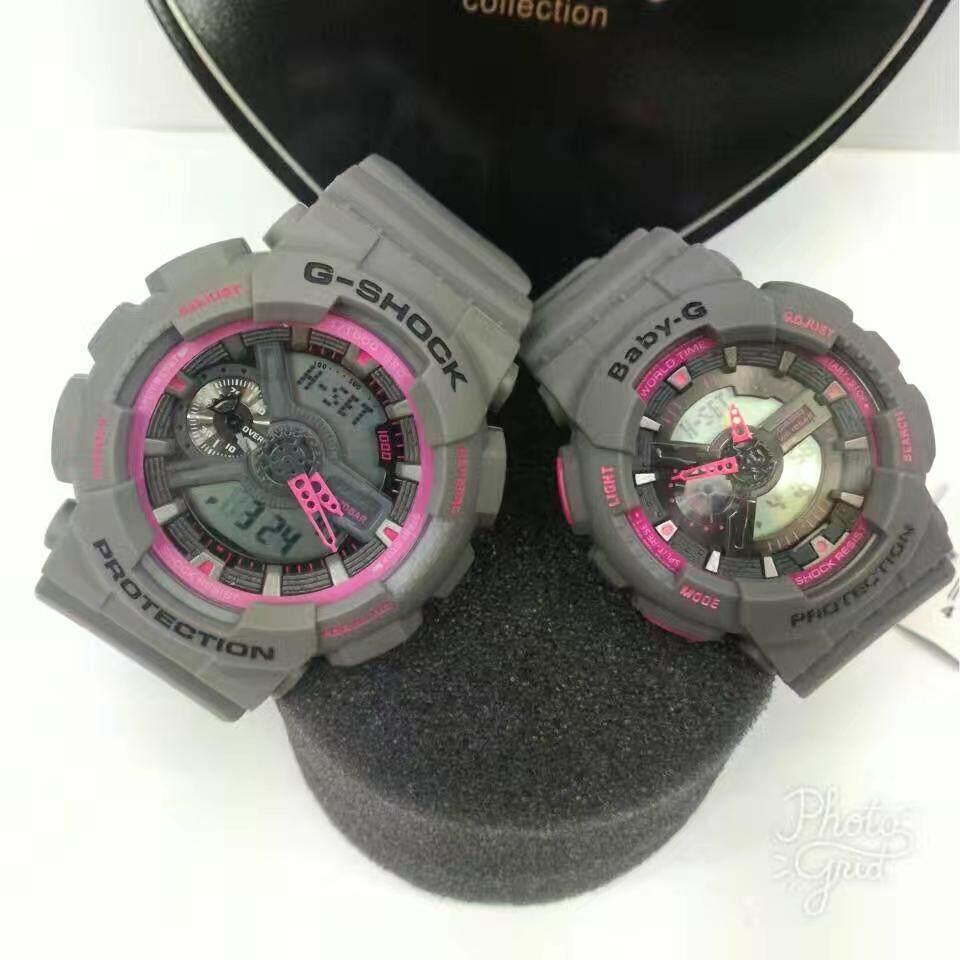 Fitur Jam Tangan Casio Couple D G Shock Baby Water Resist Watch Set