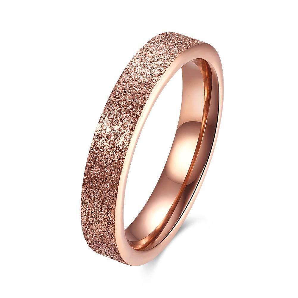 Kemstone Fashion Simple Unisex Shiny Titanium Steel Rings By Kemstone Jewelry.