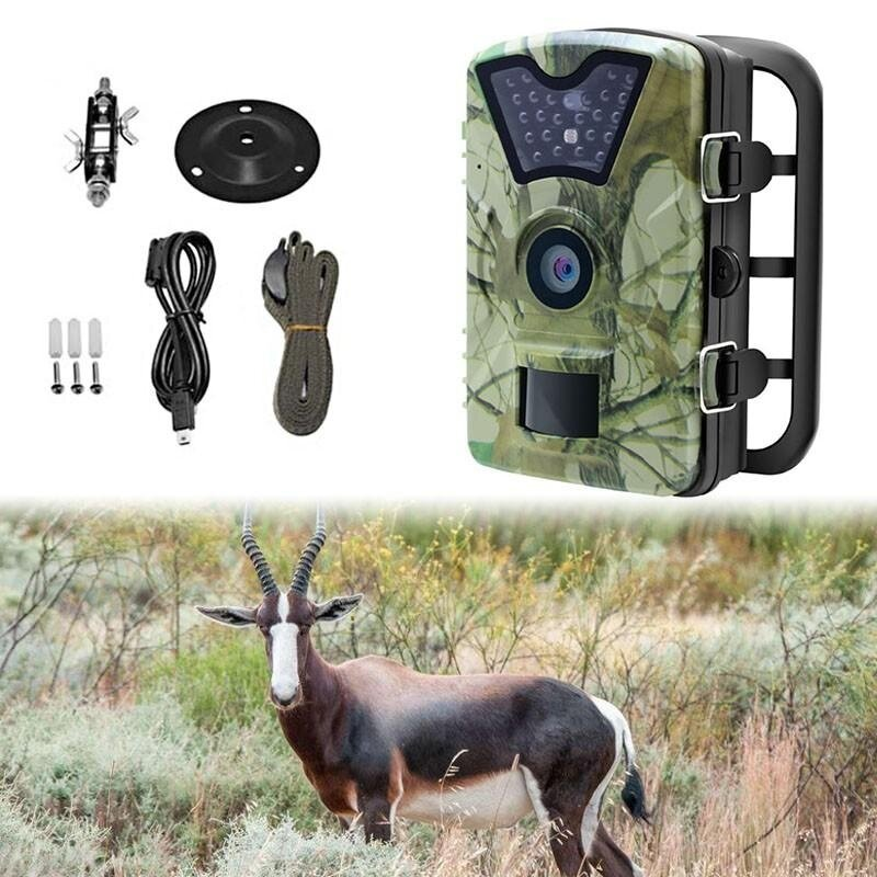 12MP 1080P Hunting Camera DVR Trail Scouting Wildlife Night Vision LED  Infrared - intl