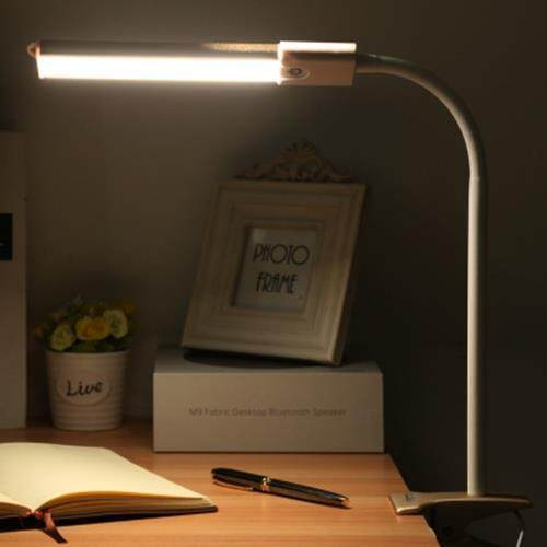 YOUOKLIGHT YK2254 DC 5V 5W 200LM CLIP FIXTURES 24 LEDS DESK LIGHT EYE-PROTECTION DIMMABLE TABLE LAMP (GOLDEN)