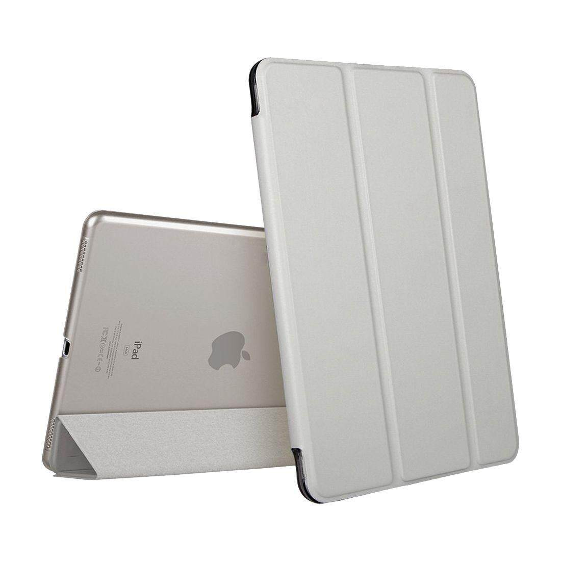 Ultra Slim Light Weight Smart Case Cover Translucent Frosted Back Magnetic Cover with Auto Sleep/