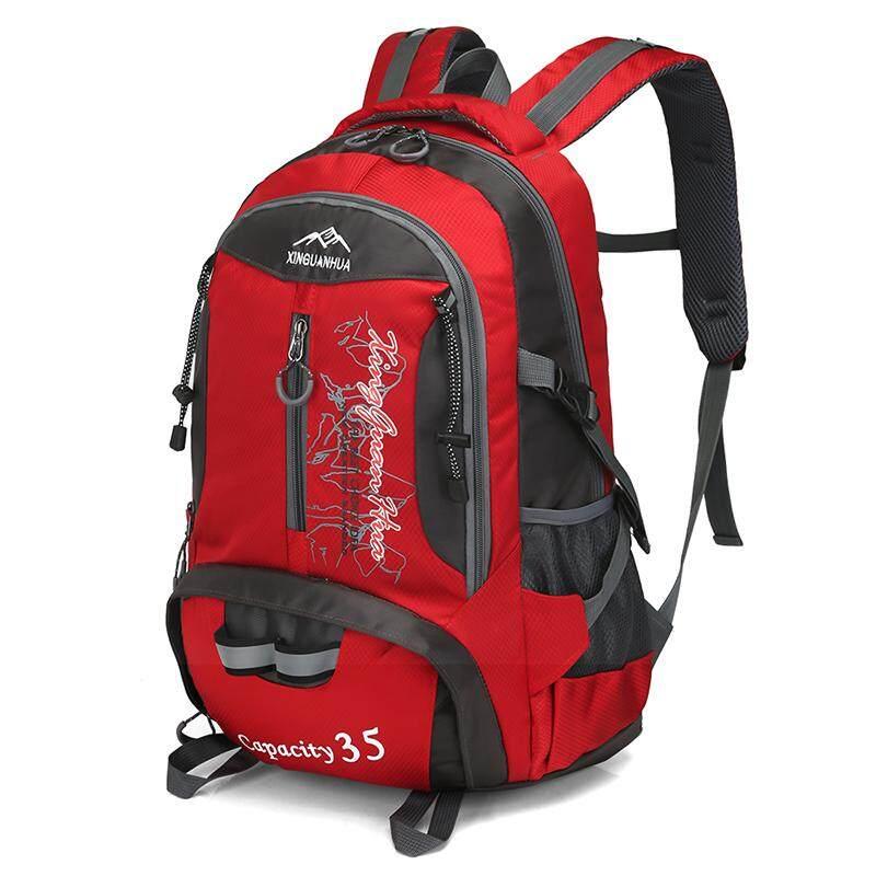 35l Profesional Tahan Air Ransel Olahraga Luar Ruangan Tas Ransel Untuk Musim Semi Perjalanan Luar Ruangan, Hiking, Mendaki, Berburu Camping Eksplorasi-Intl By Dreeyn Backpack.