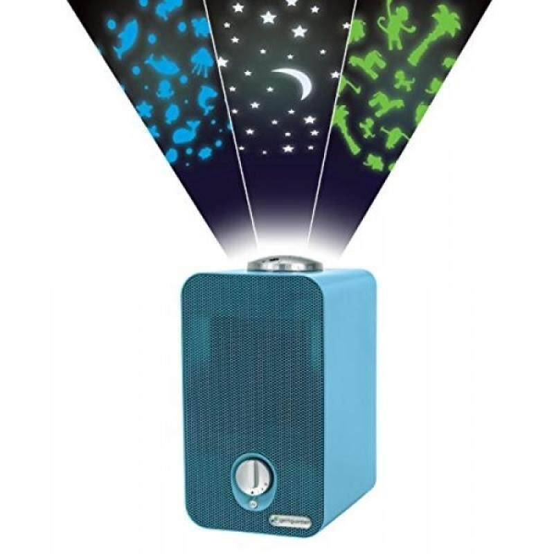 GermGuardian AC4150BLCA Night-Night 4-in-1 Air Purifier, HEPA Filter, UV-C Sanitizer, Captures Allergens, Smoke, Odors, Mold, Dust, Germs, Pets, Smoker, Projector, Germ Guardian Air Purifier, Blue - intl Singapore