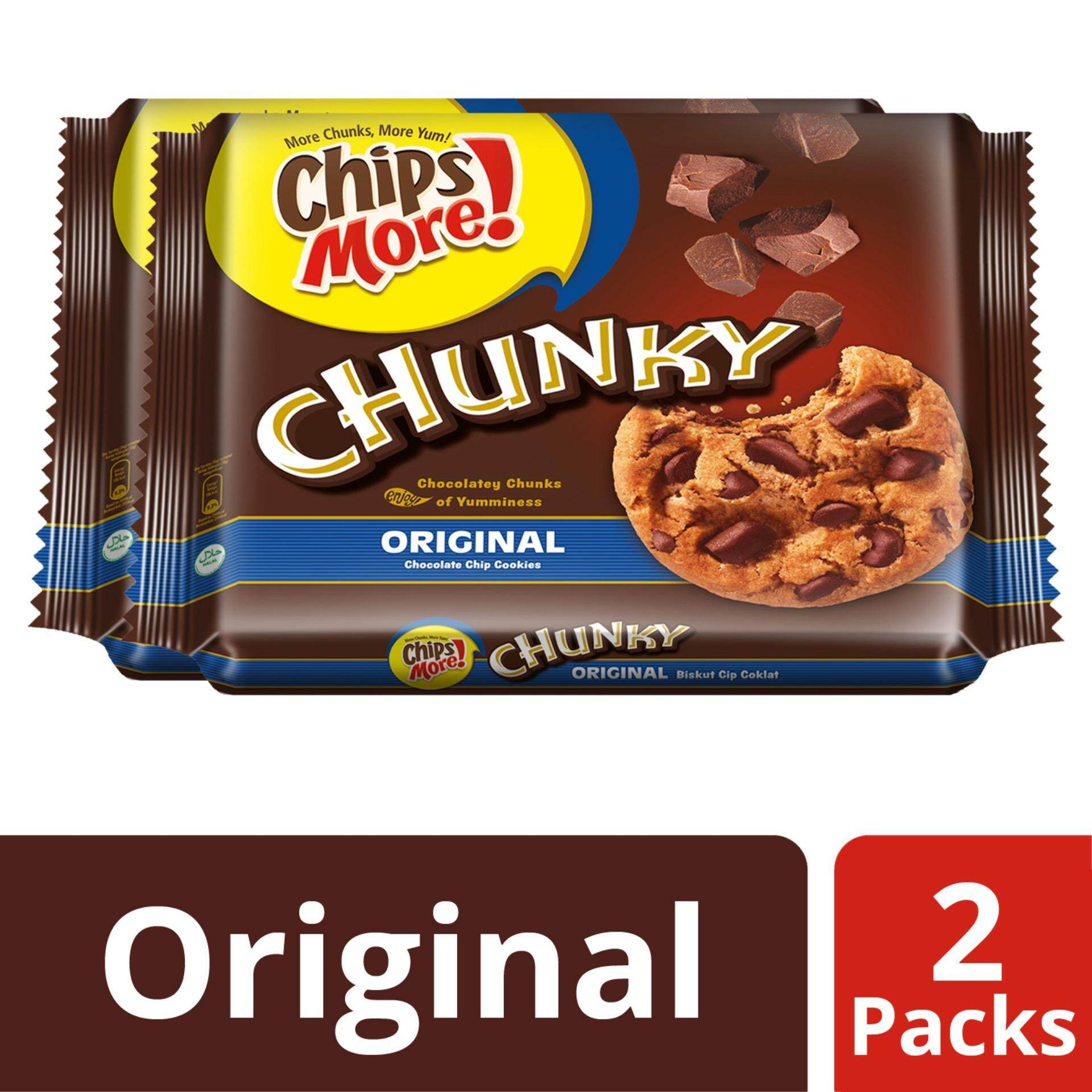Chipsmore Chunky Original Multipack 216g X 2