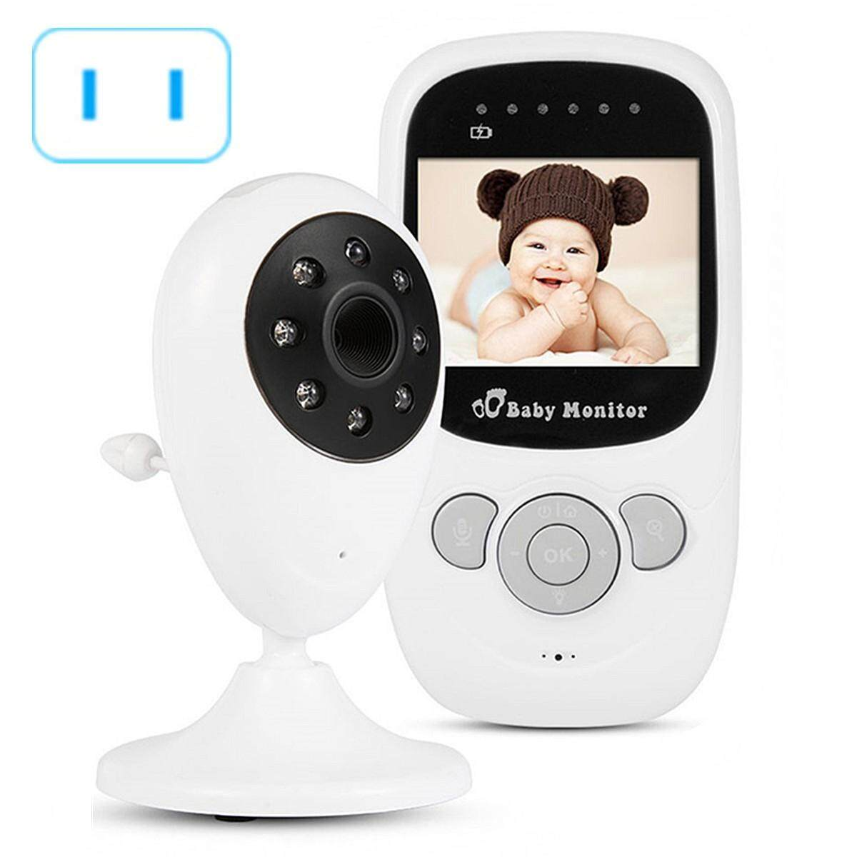 2.4 Inch Wireless Wifi Pet Baby Monitor Two Way Audio Night Vision Alarm Camera US Plug - intl
