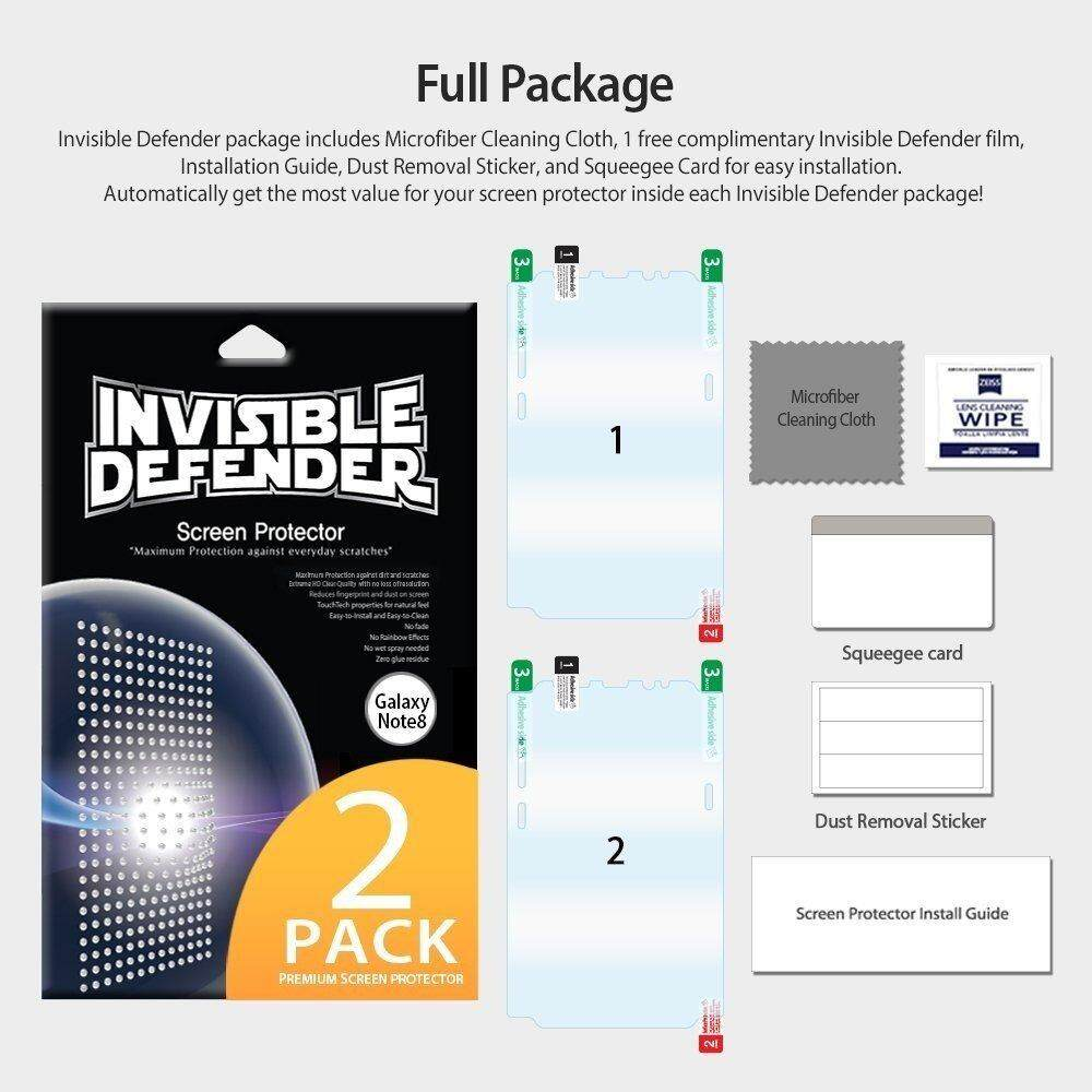 Fitur Ringke Invisible Defender Full Screen Protector For Galaxy
