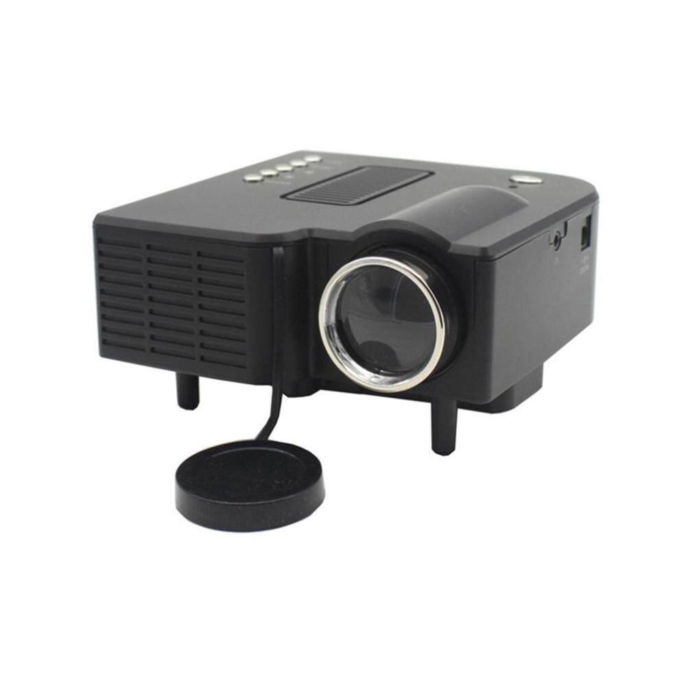 Kobwa UC28 + Proyektor Portabel Mini HD 1080 P Jarak Jauh Pengendali LED Proyektor Bioskop Rumah dengan Vga Port HDMI -Internasional