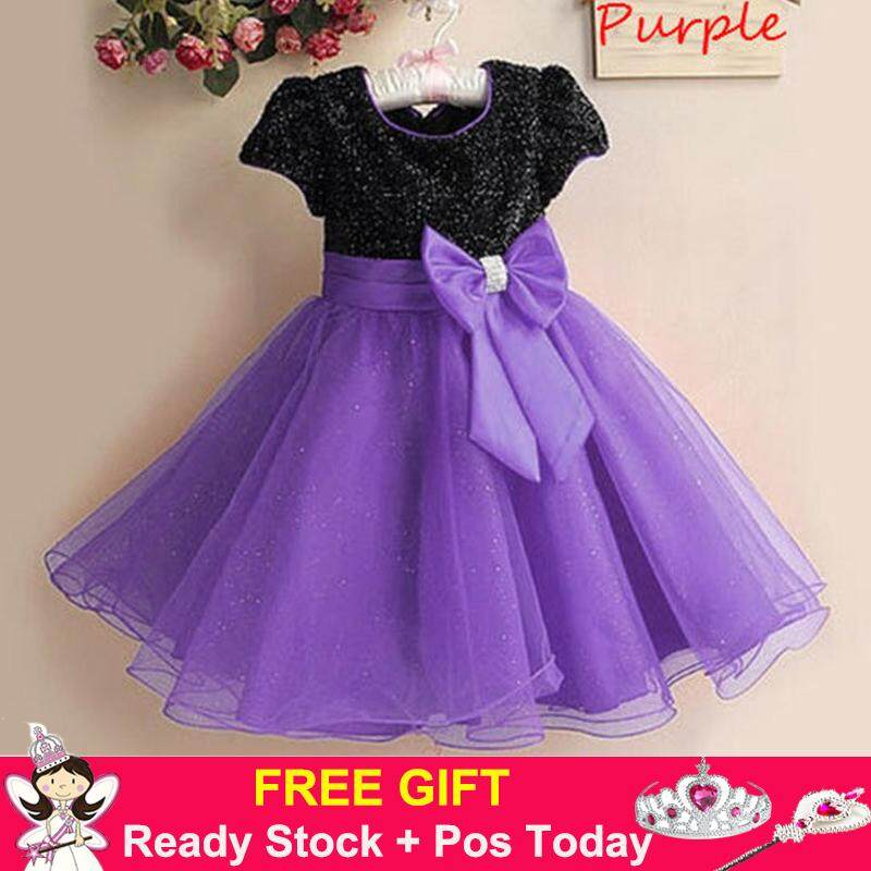Features Baby Girl Lovely Birthday Outfits For 1 3 Years Old Summer ...