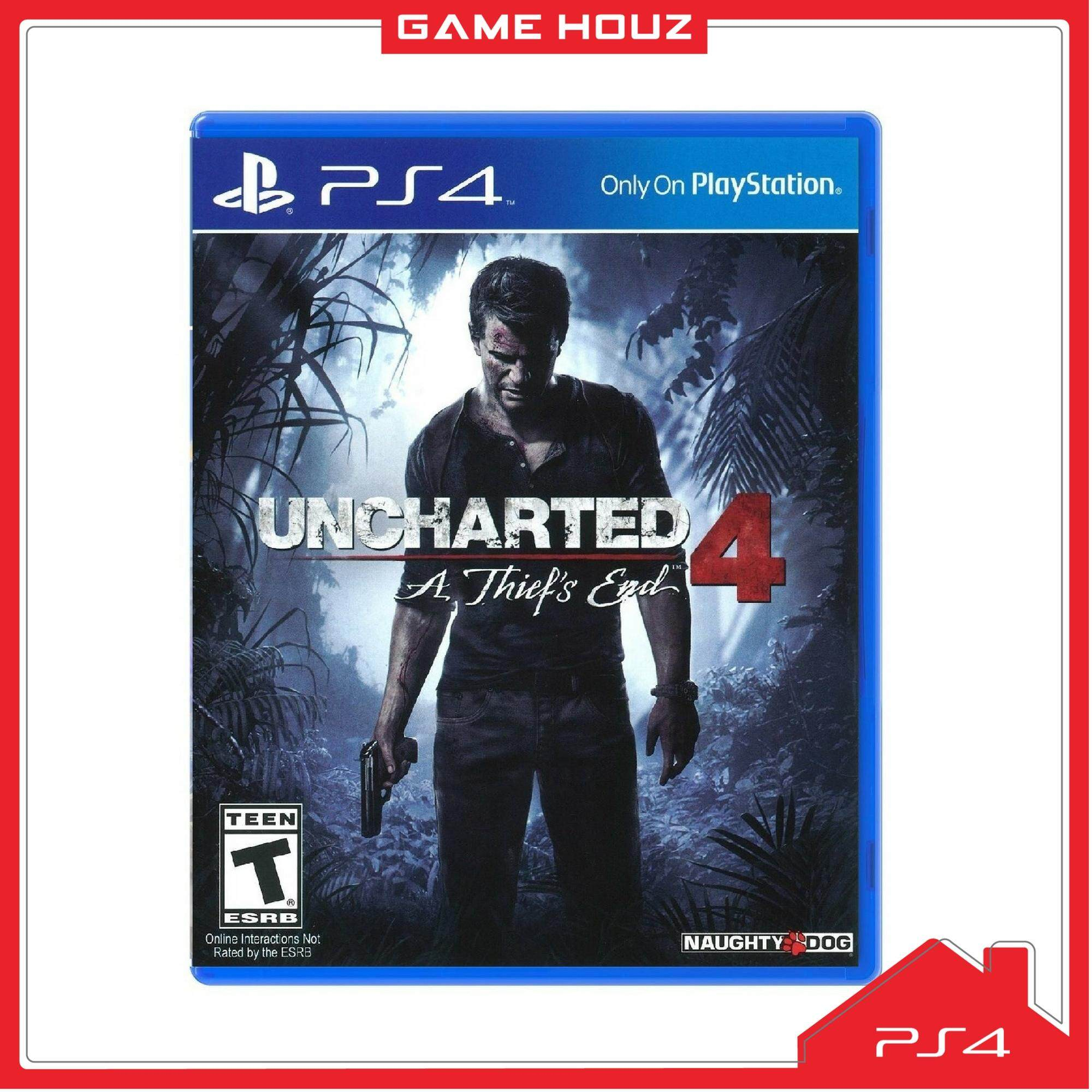 (PS4) Uncharted 4: A Thiefs End (ENG) - NEW