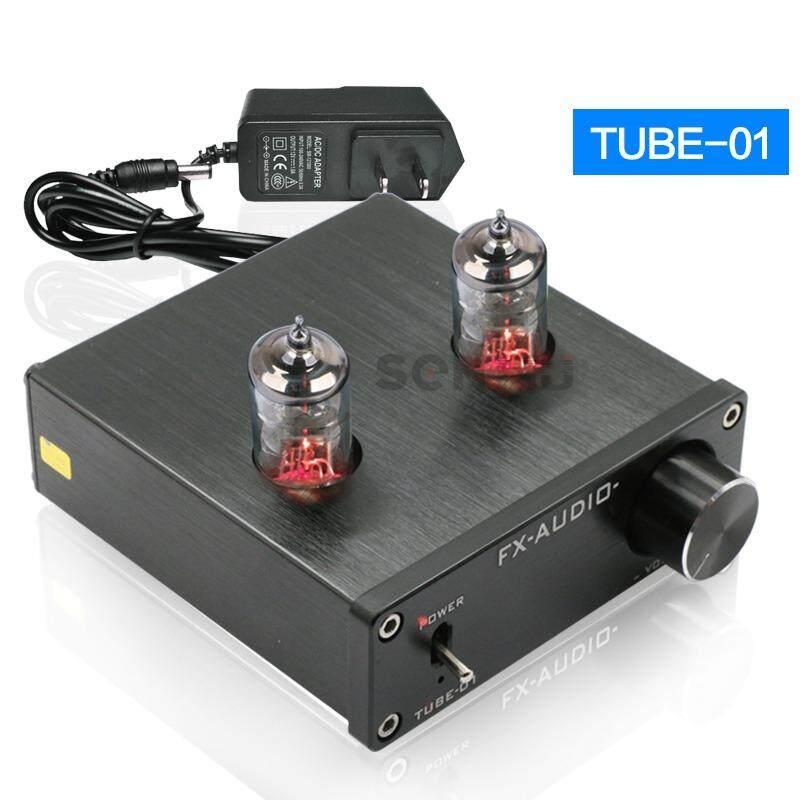 FX-AUDIO TUBE-01 bile preamp tube amplifier preamp bile buffer 6J1 MINI HIFI preamplifier DC12V - intl