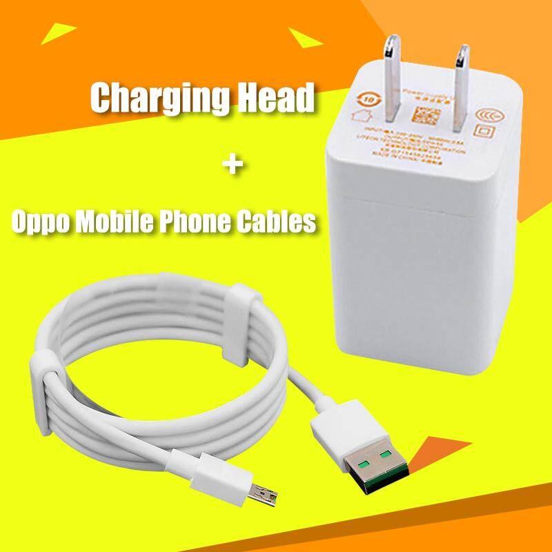 OPPO Flash Ing Kabel Data USB Android VOOC 5A Pengisian Cepat Charge Line Khusus 4A Kepala Charger untuk OPPO VOOC flash Teknologi Pengisian Daya