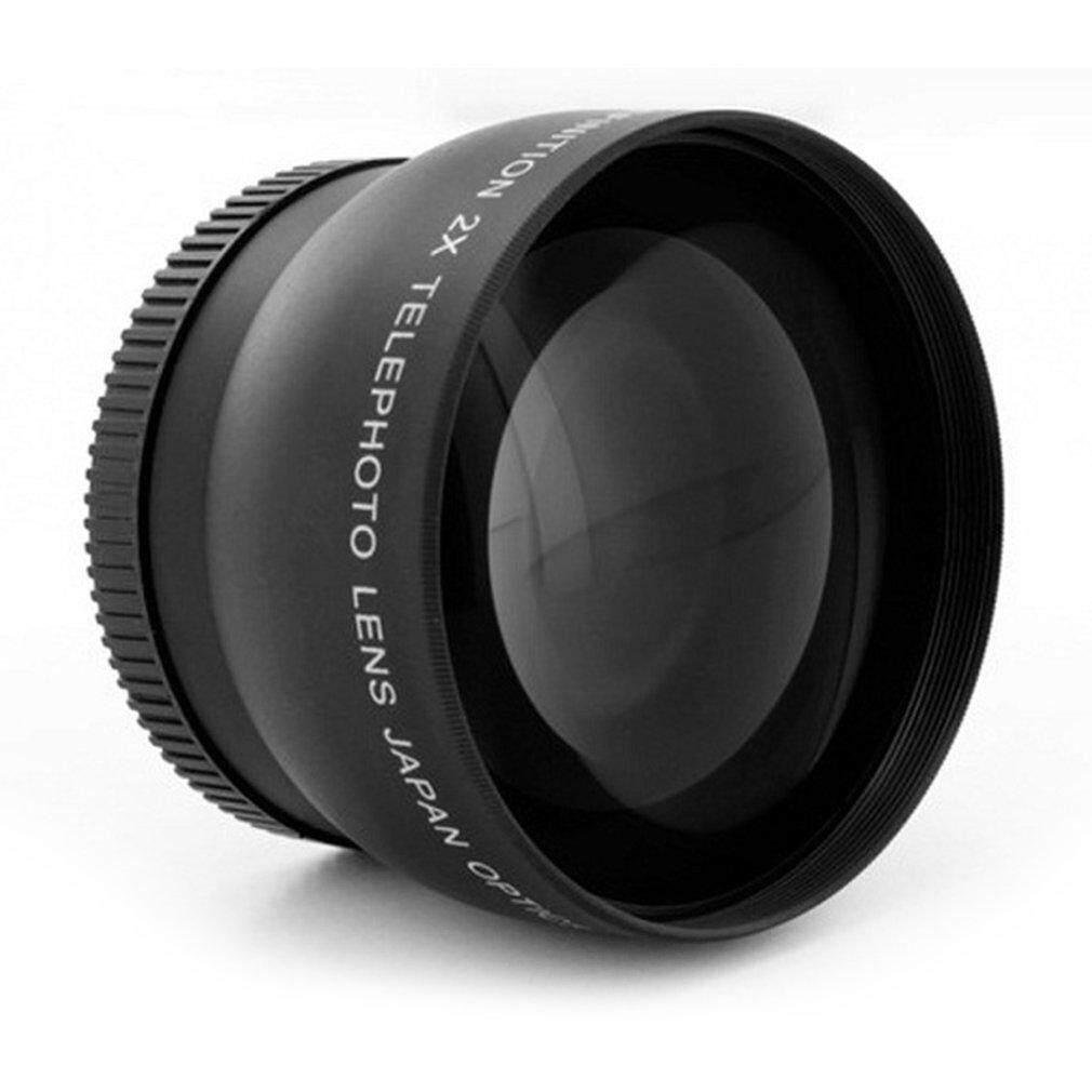 Beau 2.0X52 Mm 58 Mm Lensa Telefoto untuk Nikon D90 D80 D700 D3000 D3100 D3200 D5000-Intl