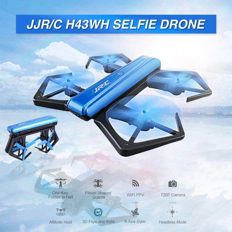 Jjr/C H43WH Wifi Drone FPV Altitude Hold Mode Dinamo RC dengan 720 P Kamera