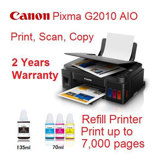 *RM475 00* Canon PIXMA G2010 Refillable Ink Tank