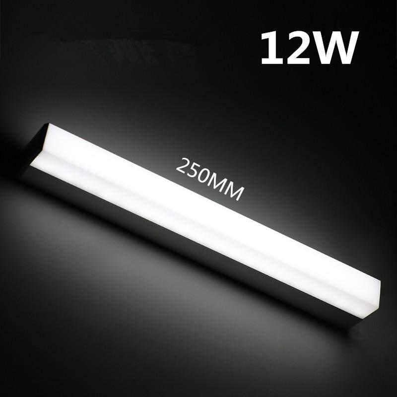 Modern LED Mirror Light 12w 16w 24w Waterproof Wall Lamp Fixture Ac220v 110v Acrylic Wall Mounted Bathroom Lighting