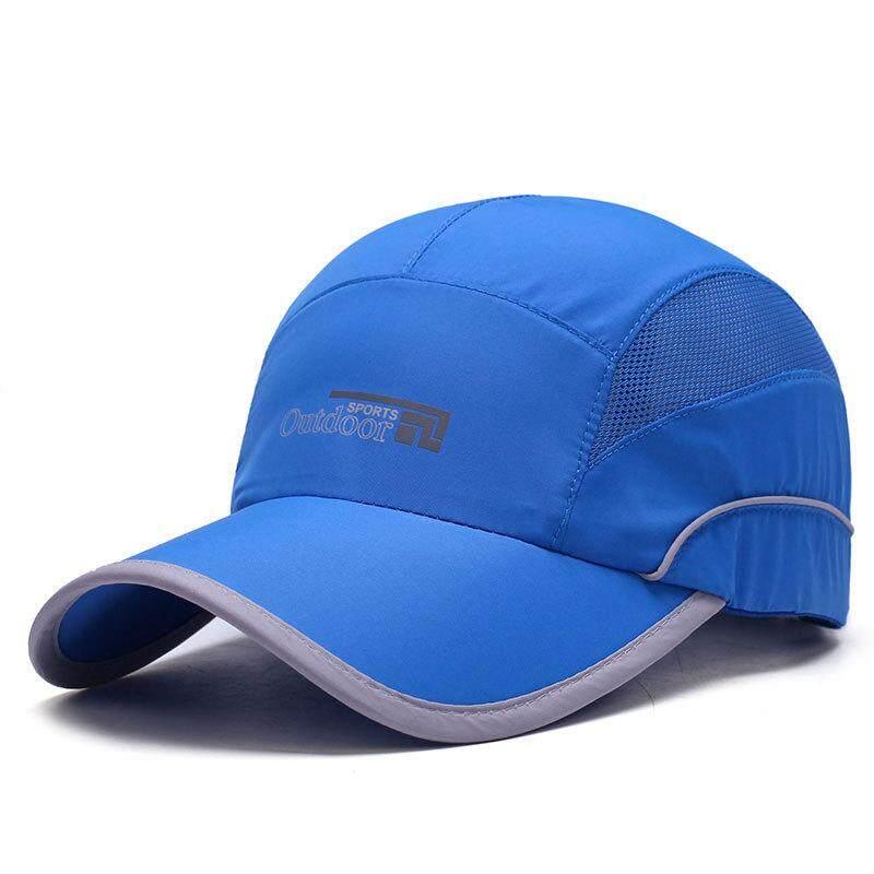 2018 Baru Cepat Pengeringan Ringan Bisbol Tutup Luar Ruangan Jaring Sejuk  UV Perlindungan Matahari Topi- d09b2b3368