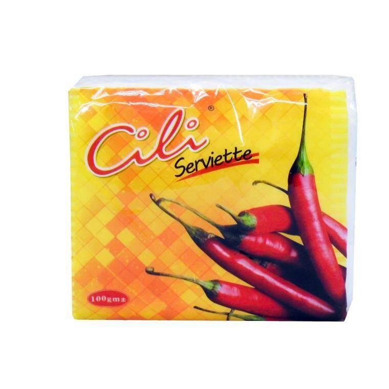 [Ready stock]Malaysia Cili Serviette Tissue - 100g x 6pkg /bag