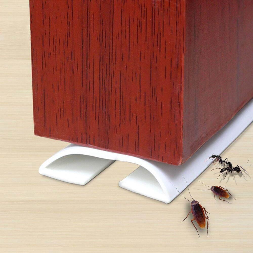 Foonee Door Bottom Seal Weather Stripping Under Door Draft Stopper Direct  Energy Saver And Gap Sealer