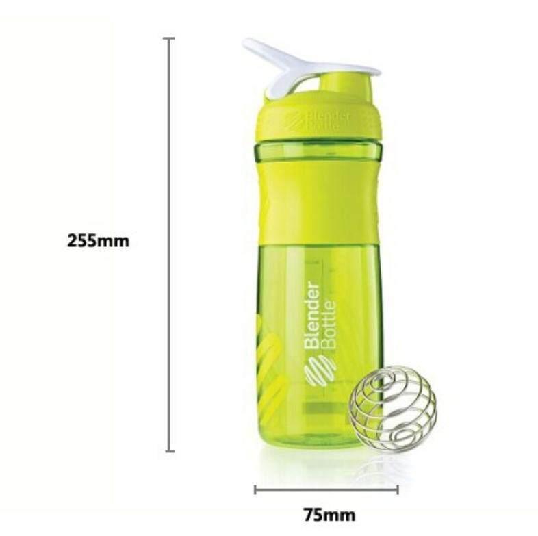 Cangkir Kocok Bubuk Protein Kebugaran Botol Minum Olahraga 800 Ml Intl