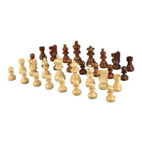 [Best Chess Set] Morrigana Weighted Wood Chess Pieces U2013 Pieces Only U2013 No  Board