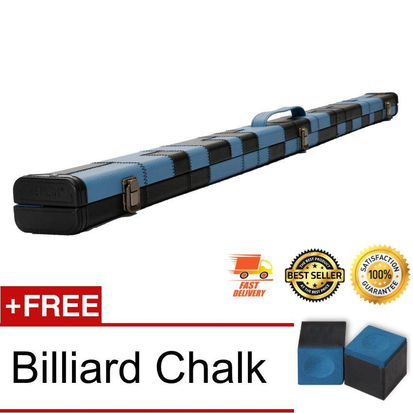 3/4 Billiard Snooker/Pool 3/4 Hard Box Cue Case Bag Holder Block Accessories