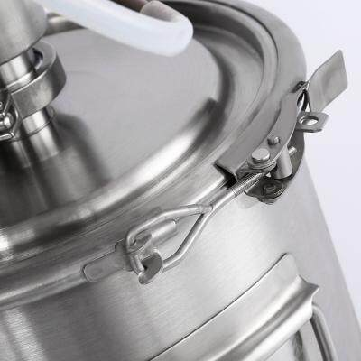 DIBOSH STAINLESS STEEL ALCOHOL DISTILLER WINE BREWING DEVICE (SILVER WHITE)