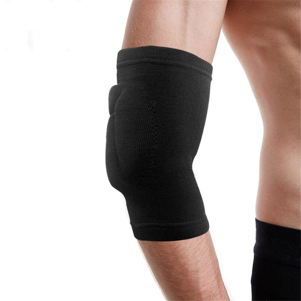 A Pair Sponge Elbow Support Pads Sports Protective Elbow Brace Arm Sleeves moniment